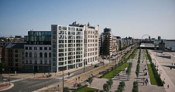 A0203 Rivert nieuwbouwappartement te Antwerpen