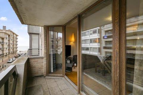 Appartement in Knokke op 100 meter van 't strand