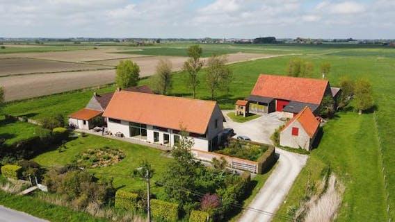 huis te koop regio Diksmuide architecte Marie-José Van Hee
