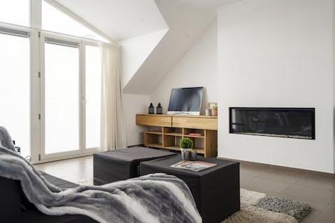 Magnifieke penthouse te koop in hartje Kortrijk