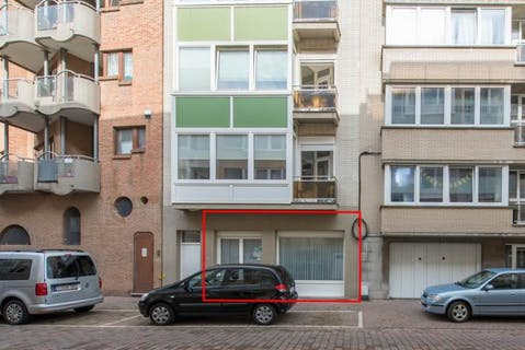 Modern instapklaar gelijkvloers appartement te koop