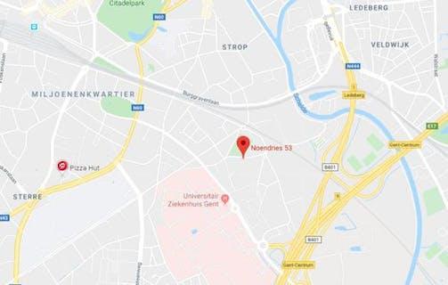 Ondergrondse autostaanplaatsen met topligging te Gent