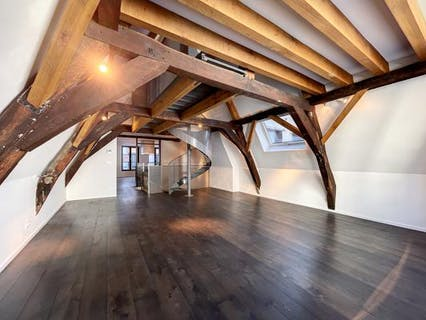 Renovated luxury duplex apartment in the historic center of Brussels