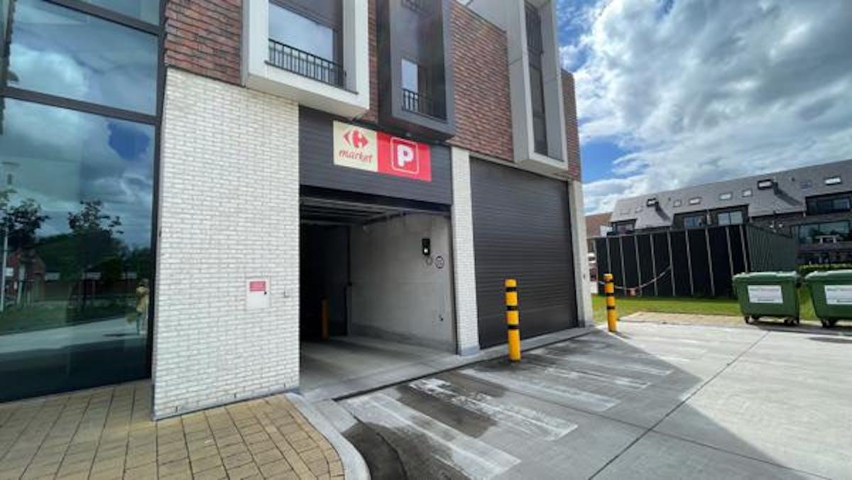Ondergrondse autostaanplaats te Lonkaplein in Essen!