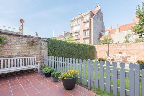 Perfect onderhouden woning met tuin te Oostende