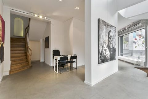 Unieke commerciële ruimte van 110m² te koop in het centrum van Brussel!