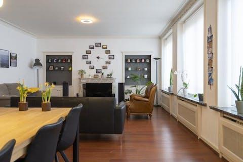 Ruim appartement met 2 slaapkamers in hartje Kortrijk