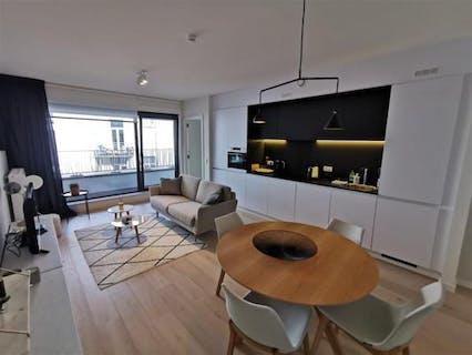 St Géry, 1 bedroom furnished new APT + Terrace