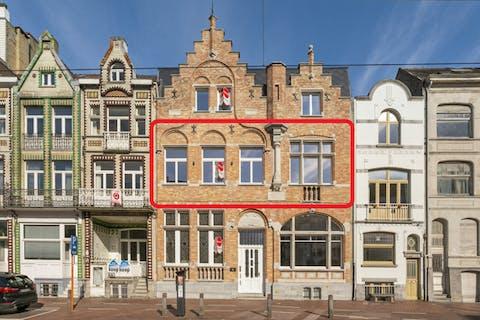 Modern appartement met authentieke elementen te koop te Blankenberge