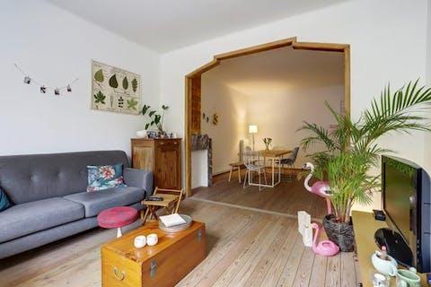 Appartement te Borgerhout op grens met Deurne-Zuid