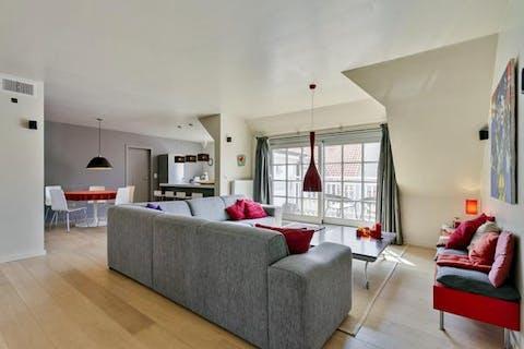 Recent duplex-appartement in centrum Knokke-Heist