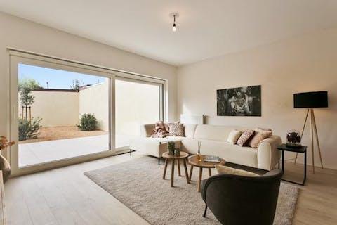 Nieuw gelijkvloersappartement met tuin te Knokke-Heist