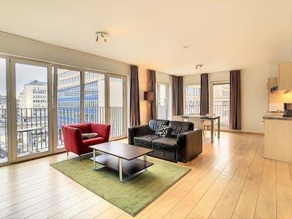 Appartement avec 2 chambres à vendre au centre de Bruxelles!