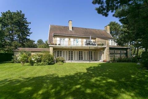 Riante villa op 1.280m² in Blankenberge