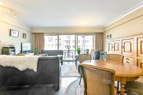 Appartement met 2 slaapkamers in Blankenberge