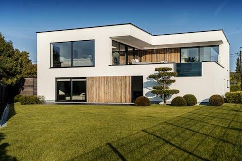 Instapklare design villa aan de oevers van de Schelde, in Bornem