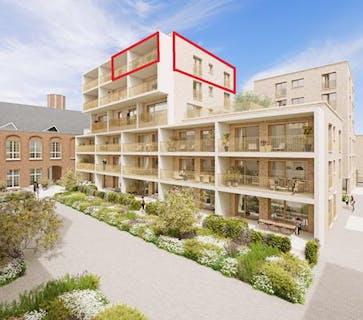 Prachtige penthouse te koop in Ieper Centrum