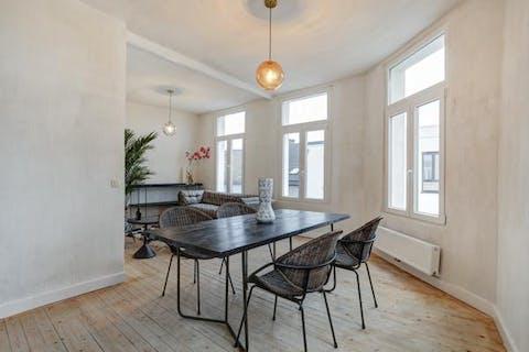 Gerenoveerd duplexappartement te koop in Borgerhout