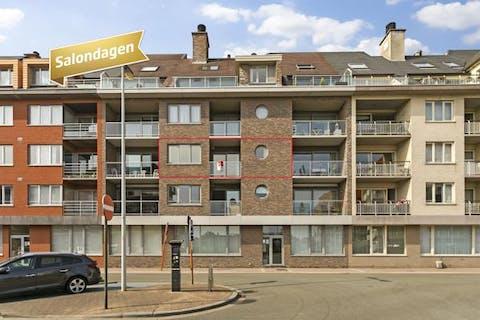 Zonnig appartement in groene omgeving in Blankenberge