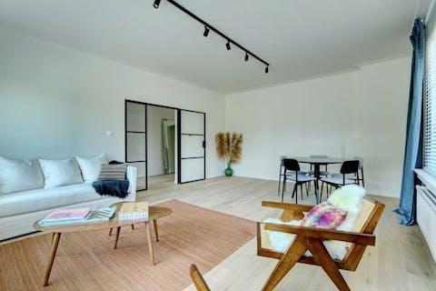 Schitterend appartement (110m²) met 3 slaapkamers in Wilrijk