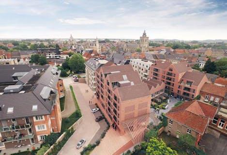 Nieuwbouwappartement te koop in Poperinge