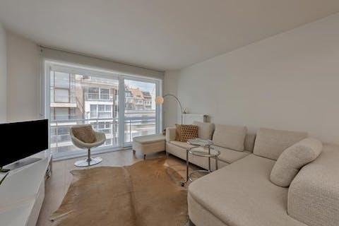 Instapklaar appartement op centrale ligging te Knokke