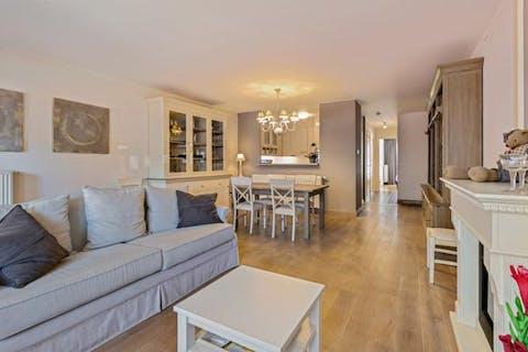 Recent appartement met zonneterras in het centrum van Knokke