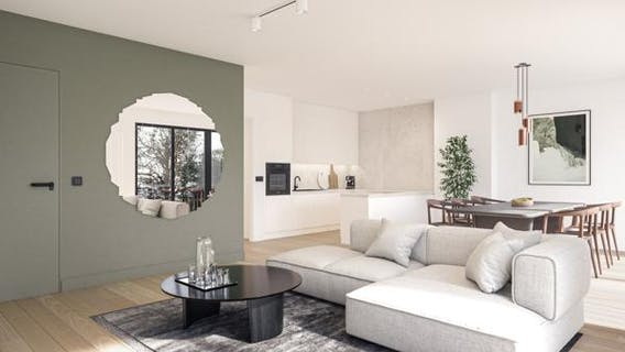 New residential project Auguste Brussels - 6% VAT!