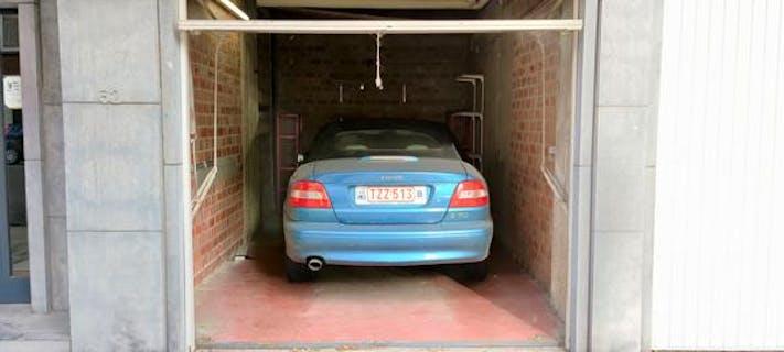 Un garage fermé au cœur de Bruxelles !