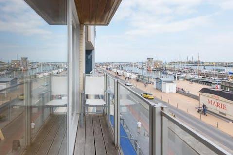 Prachtig appartement op de Visserskaai te Oostende