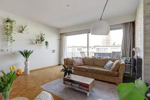 2-slaapkamer appartement te Borgerhout met twee balkons