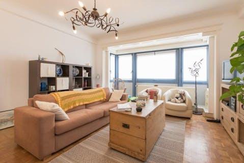 Appartement met zijdelings zeezicht te koop te Oostende