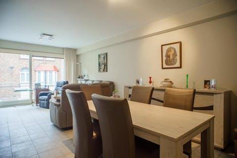 Zonnig en rustig gelegen appartement in centrum Knokke