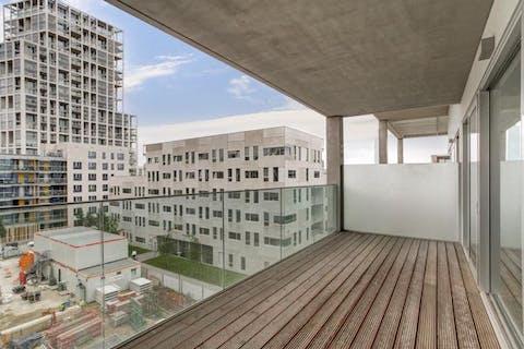 Prachtig nieuwbouwappartement op Nieuw Zuid Antwerpen