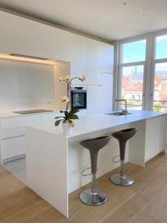 Luxueus nieuwbouwappartement op prachtige ligging in het centrum van Brugge